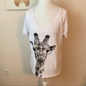 Lane Bryant   giraffe Top 14/16